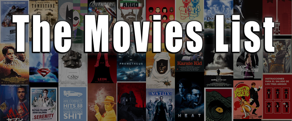 The Movie List