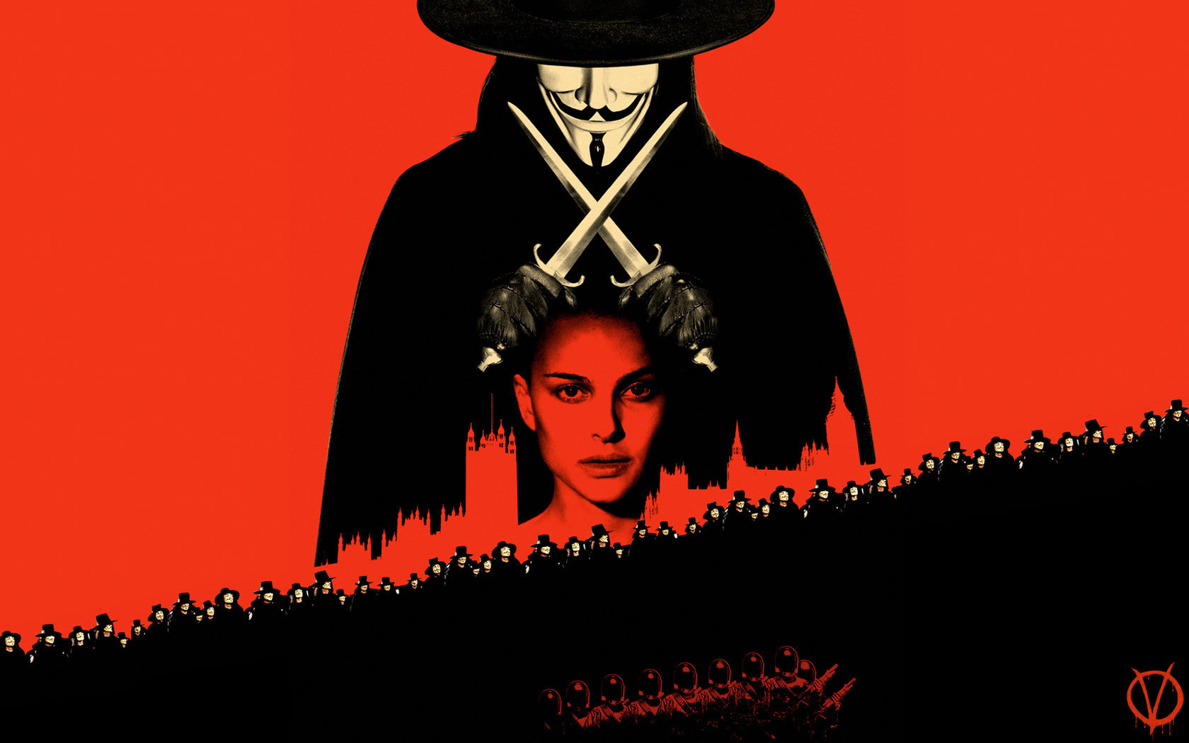 Half Popped Reviews - V for Vendetta [featured film]