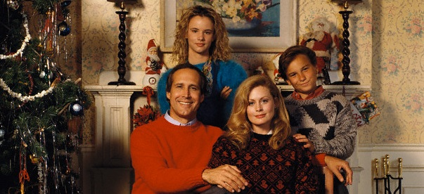 The Griswold Family Christmas Portrait